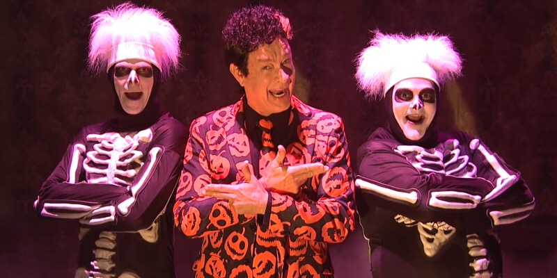 Celebrate Halloween with David S. Pumpkins