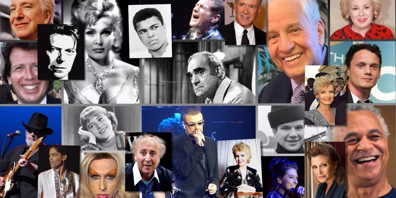 Celebrity Death Knell: Way Too Many in 2016