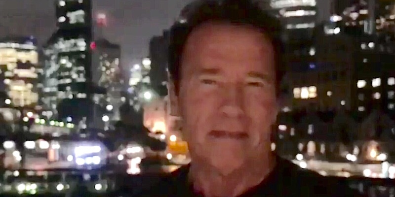 Arnold Schwarzenegger Piles on and Takes a Jab at Donald Trump