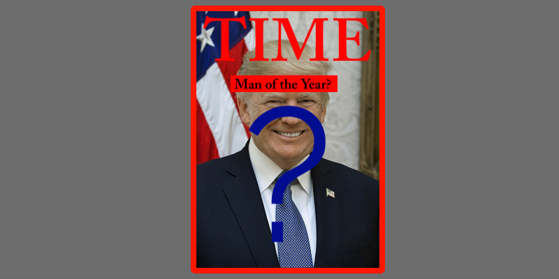 TIME Magazine and Celebs Call Trump Out on His 'Man of the Year' Tweet