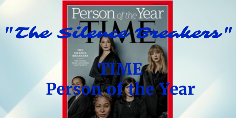 Trump Gets Runner-up to 'The Silence Breakers' as TIME Magazine 'Person of the Year' – Appropriate?